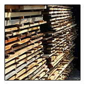 TreeHugger Lumber is stored as it continues to Dry