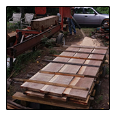 TreeHugger Lumber Results after going through Woodmizer